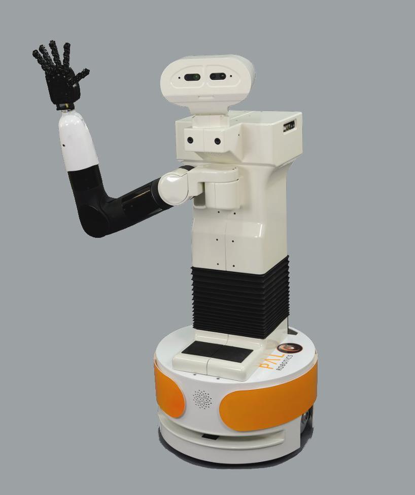 TIAGo front view robot