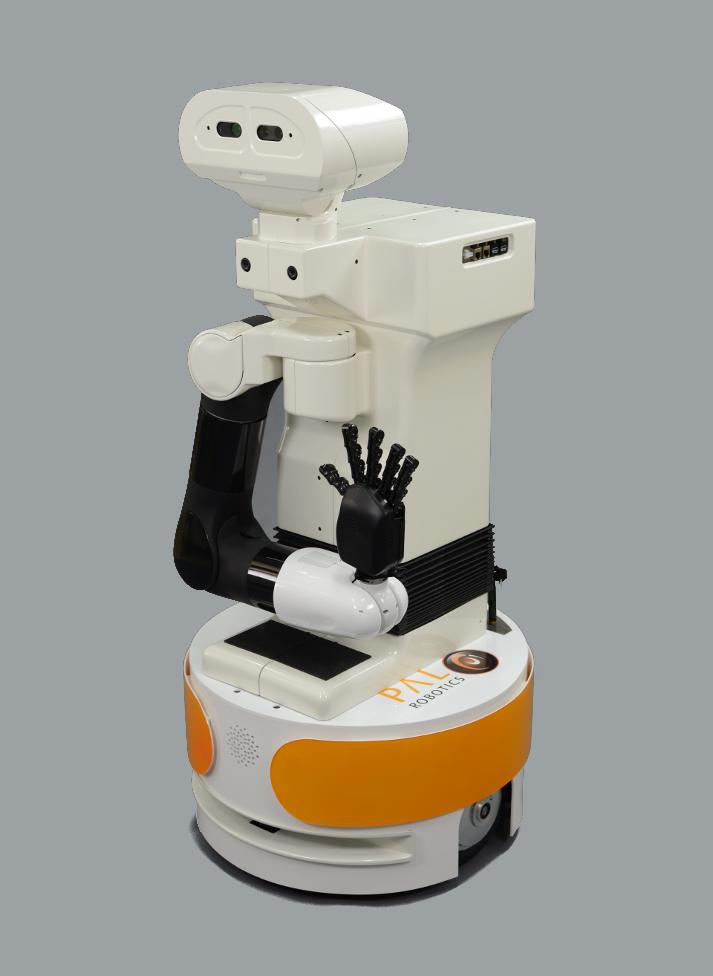 TIAGo front left robot